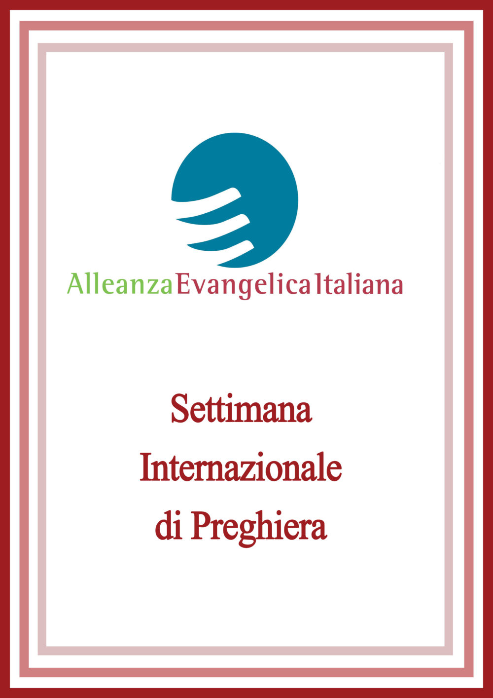 Settimana internazionale di Preghiera